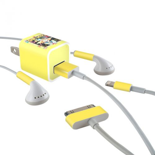 She Who Laughs iPhone Earphone, Power Adapter, Cable Skin
