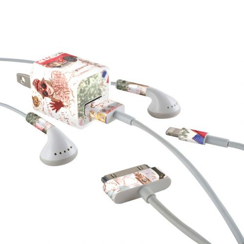 London iPhone Earphone, Power Adapter, Cable Skin