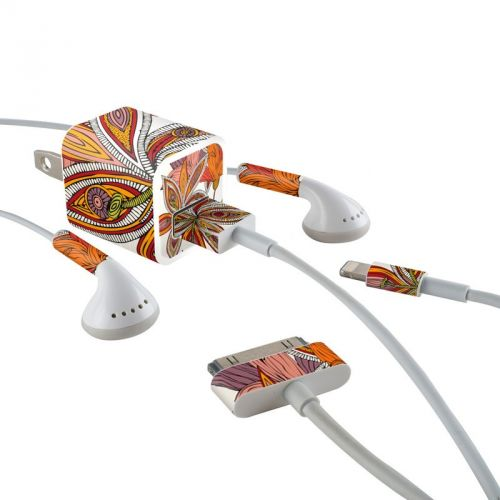 Lou iPhone Earphone, Power Adapter, Cable Skin