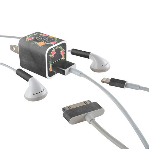 Love Done Well iPhone Earphone, Power Adapter, Cable Skin