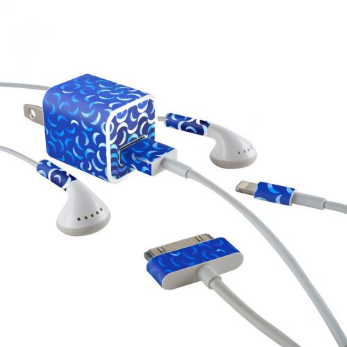 Luna Lounge iPhone Earphone, Power Adapter, Cable Skin