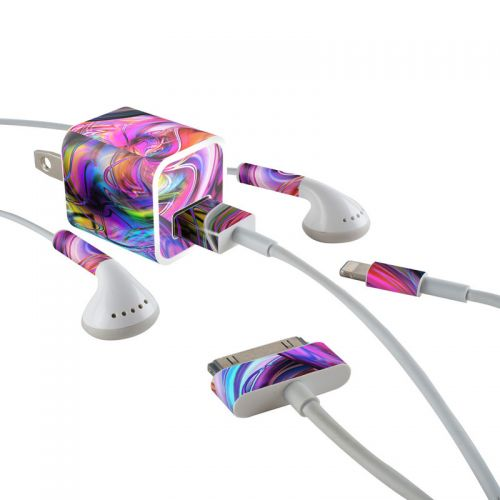 Marbles iPhone Earphone, Power Adapter, Cable Skin