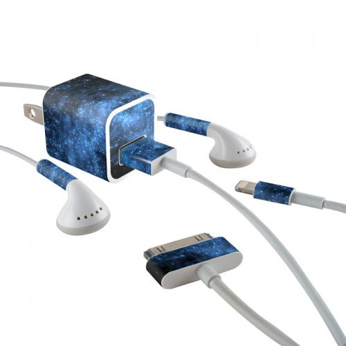 Milky Way iPhone Earphone, Power Adapter, Cable Skin