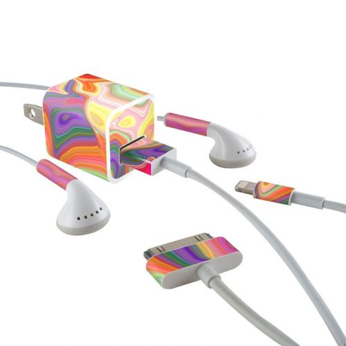 Mind Trip iPhone Earphone, Power Adapter, Cable Skin
