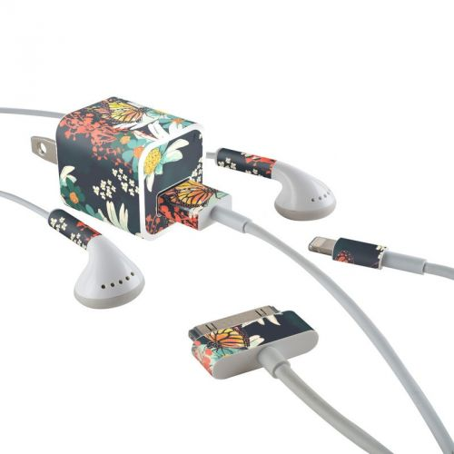 Monarch Grove iPhone Earphone, Power Adapter, Cable Skin