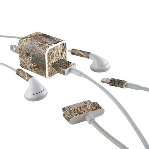 Duck Blind iPhone Earphone, Power Adapter, Cable Skin