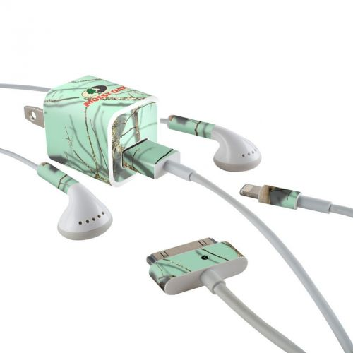 Break-Up Lifestyles Equinox iPhone Earphone, Power Adapter, Cable Skin