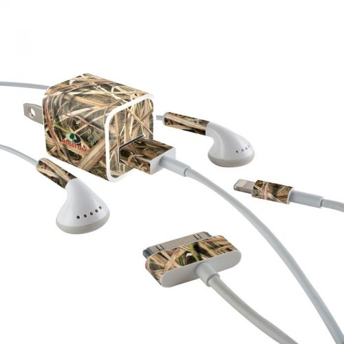 Shadow Grass Blades iPhone Earphone, Power Adapter, Cable Skin