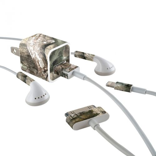Treestand iPhone Earphone, Power Adapter, Cable Skin