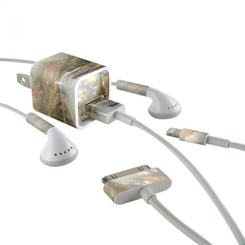 Mountain Majesty iPhone Earphone, Power Adapter, Cable Skin