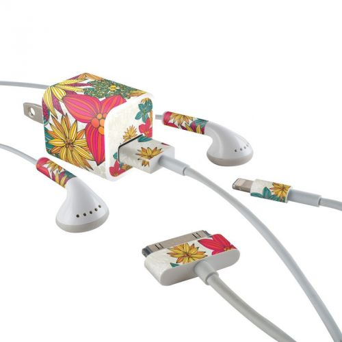 Phoebe iPhone Earphone, Power Adapter, Cable Skin