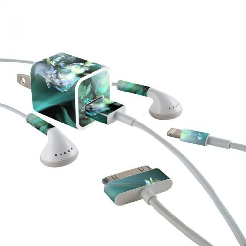 Pixies iPhone Earphone, Power Adapter, Cable Skin