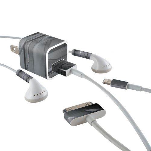 Plated iPhone Earphone, Power Adapter, Cable Skin