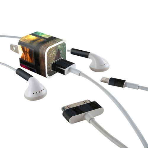 Portals iPhone Earphone, Power Adapter, Cable Skin