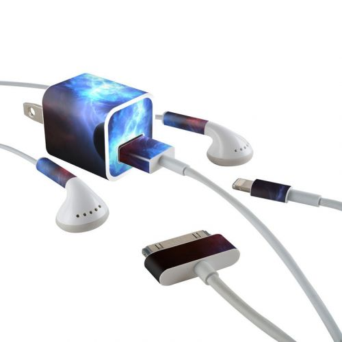 Pulsar iPhone Earphone, Power Adapter, Cable Skin