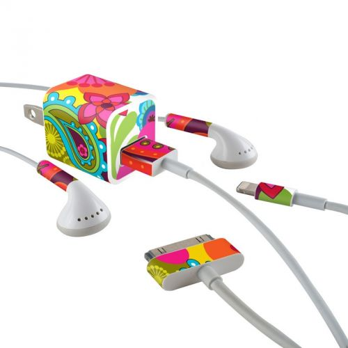 Raj iPhone Earphone, Power Adapter, Cable Skin