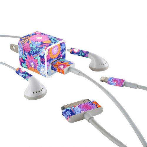 Ribbon Bouquet iPhone Earphone, Power Adapter, Cable Skin
