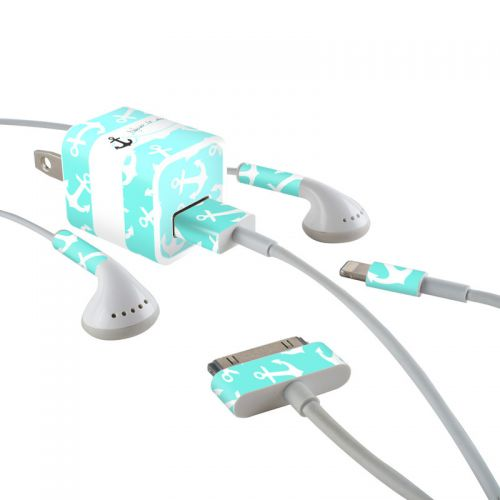Refuse to Sink iPhone Earphone, Power Adapter, Cable Skin