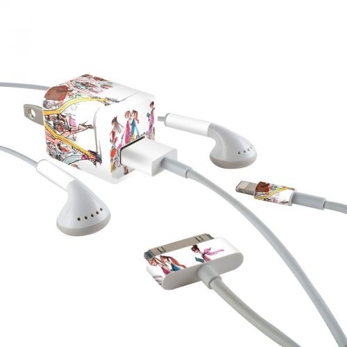 Runway Runway iPhone Earphone, Power Adapter, Cable Skin