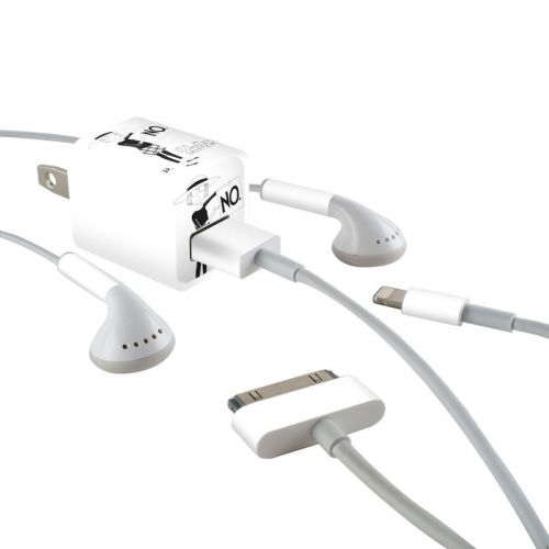 Sentence iPhone Earphone, Power Adapter, Cable Skin