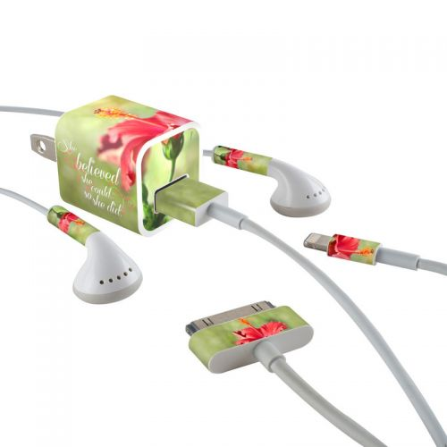 She Believed iPhone Earphone, Power Adapter, Cable Skin