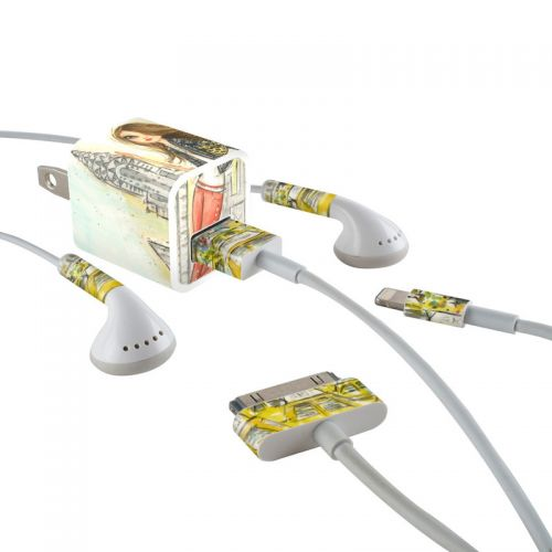 The Sights New York iPhone Earphone, Power Adapter, Cable Skin