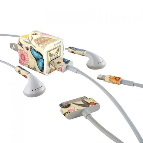 Spring All iPhone Earphone, Power Adapter, Cable Skin