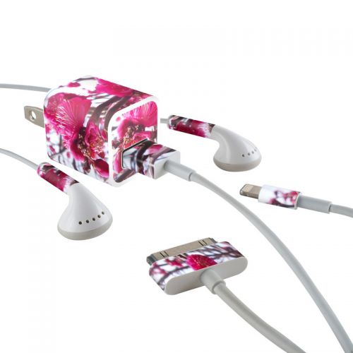Spring In Japan iPhone Earphone, Power Adapter, Cable Skin