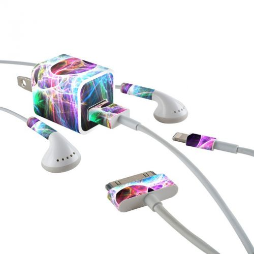 Static Discharge iPhone Earphone, Power Adapter, Cable Skin