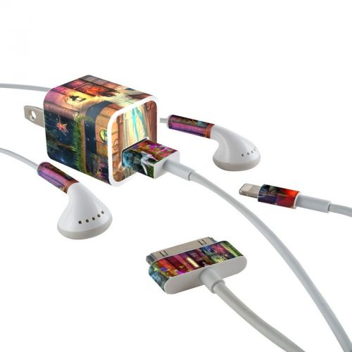 Treasure Hunt iPhone Earphone, Power Adapter, Cable Skin