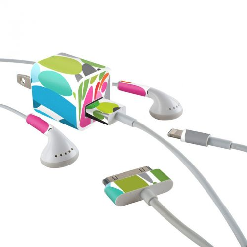 Twist iPhone Earphone, Power Adapter, Cable Skin