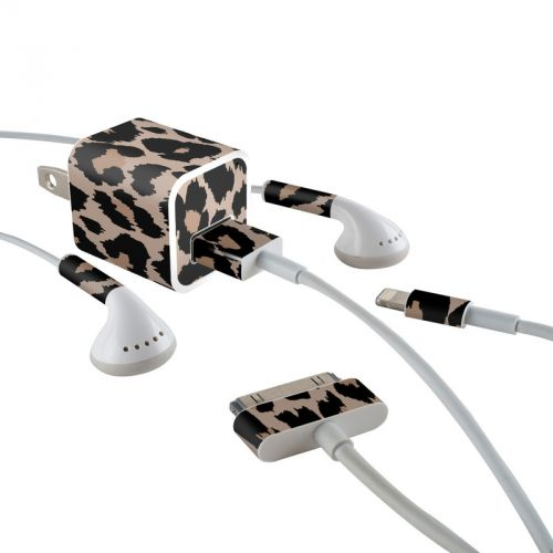 Untamed iPhone Earphone, Power Adapter, Cable Skin