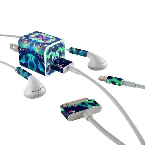 Water Dream iPhone Earphone, Power Adapter, Cable Skin