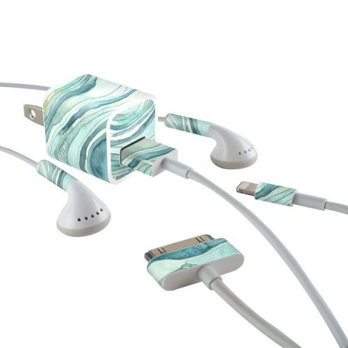 Waves iPhone Earphone, Power Adapter, Cable Skin