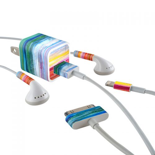 Waterfall iPhone Earphone, Power Adapter, Cable Skin