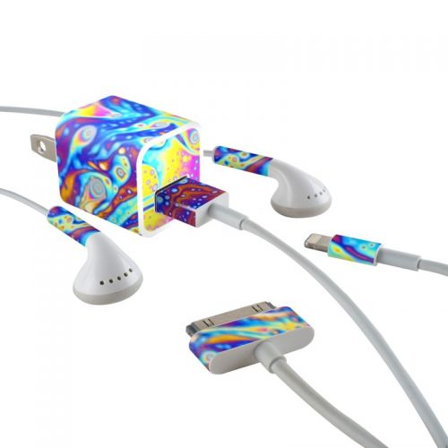 World of Soap iPhone Earphone, Power Adapter, Cable Skin