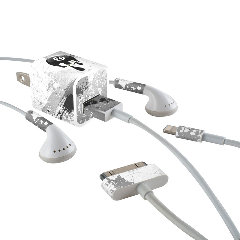 8Ball iPhone Earphone, Power Adapter, Cable Skin