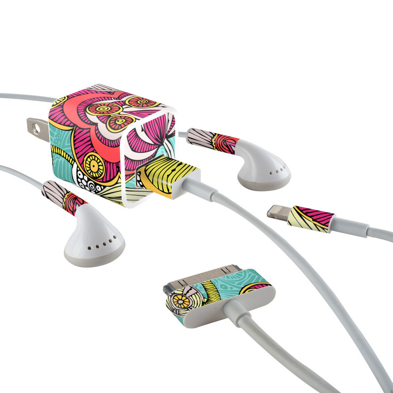 Beatriz iPhone Earphone, Power Adapter, Cable Skin