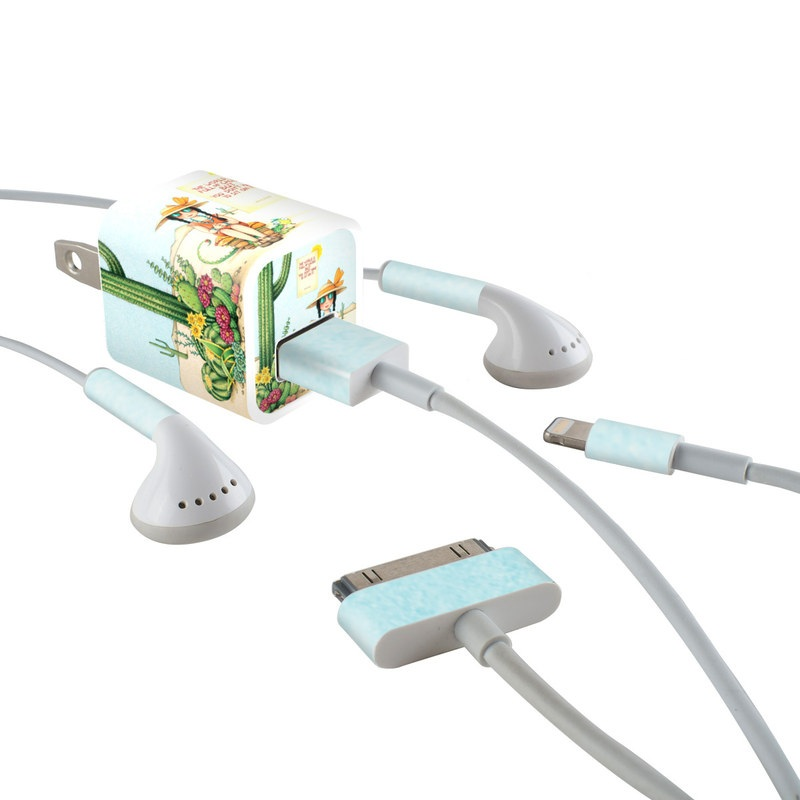 Cactus iPhone Earphone, Power Adapter, Cable Skin