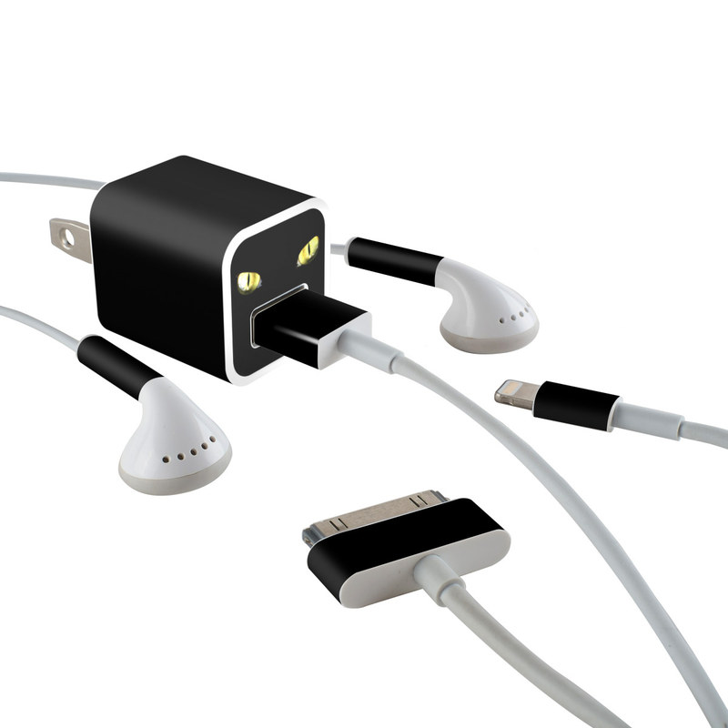 Cat Eyes iPhone Earphone, Power Adapter, Cable Skin