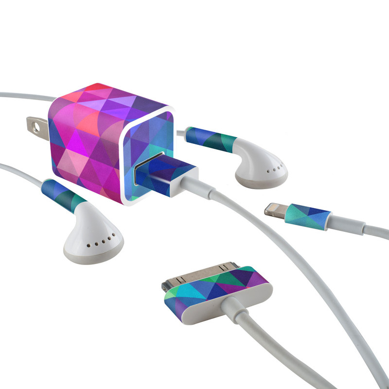 Charmed iPhone Earphone, Power Adapter, Cable Skin