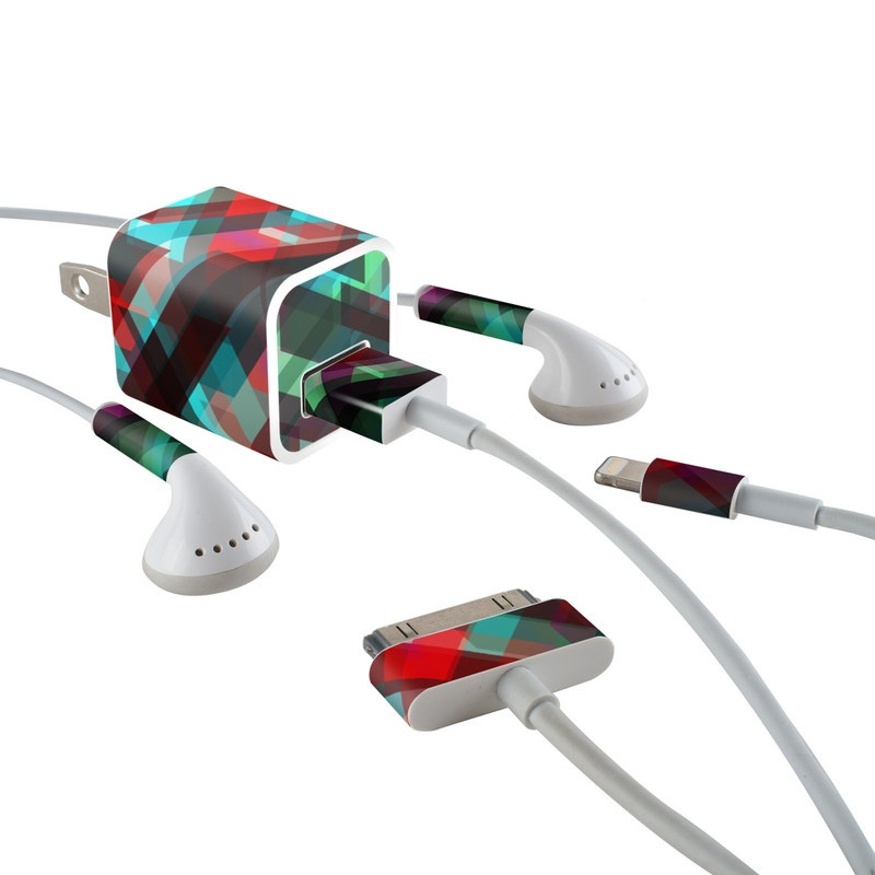 Conjure iPhone Earphone, Power Adapter, Cable Skin