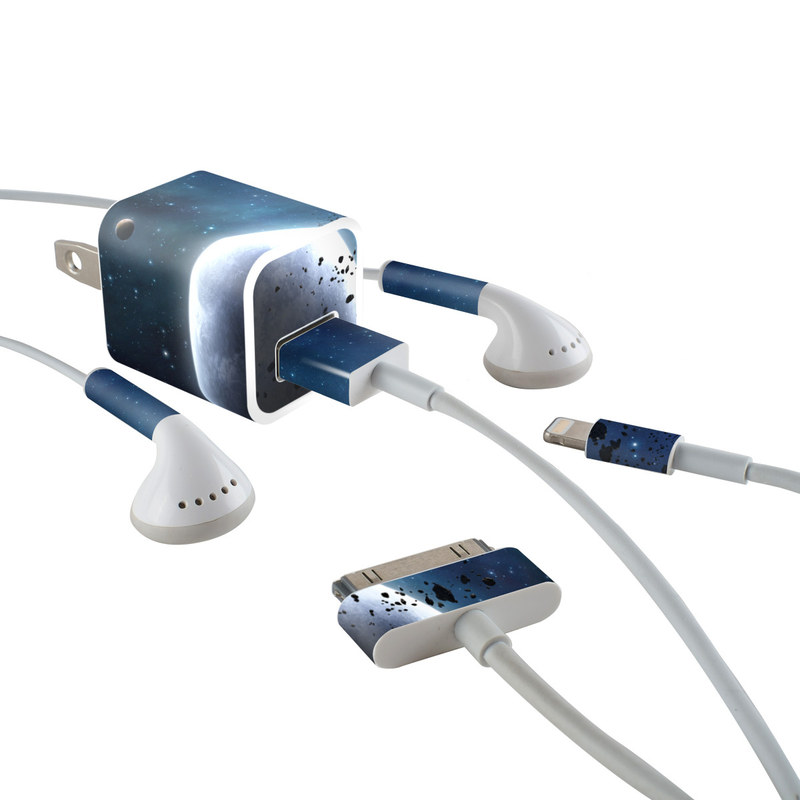 Eliriam iPhone Earphone, Power Adapter, Cable Skin