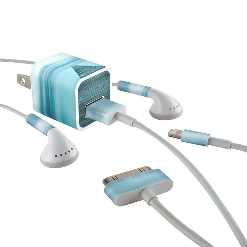Evening Stillness iPhone Earphone, Power Adapter, Cable Skin
