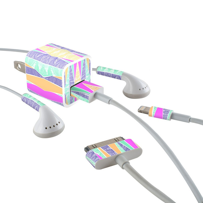 Gelato iPhone Earphone, Power Adapter, Cable Skin