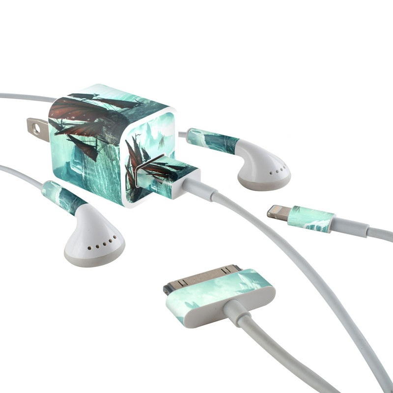 Into the Unknown iPhone Earphone, Power Adapter, Cable Skin