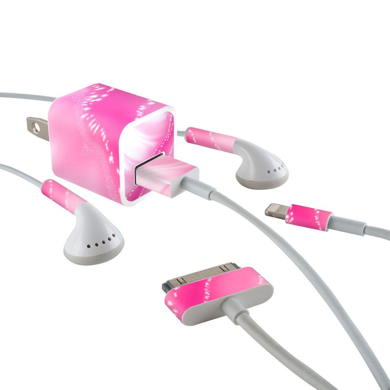 Island iPhone Earphone, Power Adapter, Cable Skin