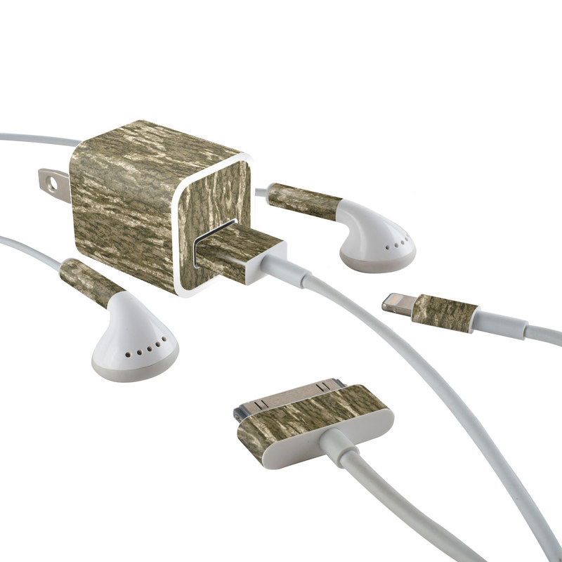 iPhone Earphone, Power Adapter, Cable Skin design of Grass, Brown, Grass family, Plant, Soil with black, red, gray colors