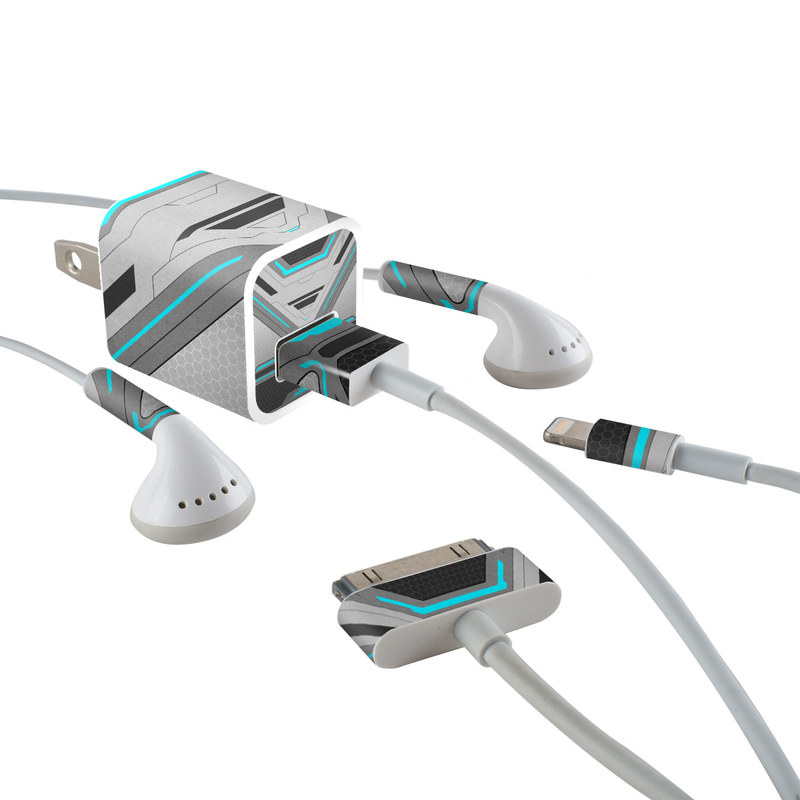 Spec iPhone Earphone, Power Adapter, Cable Skin
