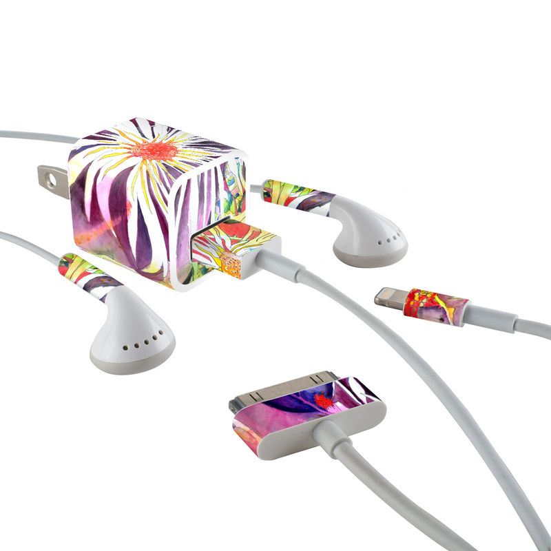 Truffula iPhone Earphone, Power Adapter, Cable Skin